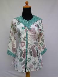 Model Baju Batik Seragam Guru Wanita Modern Terbaru