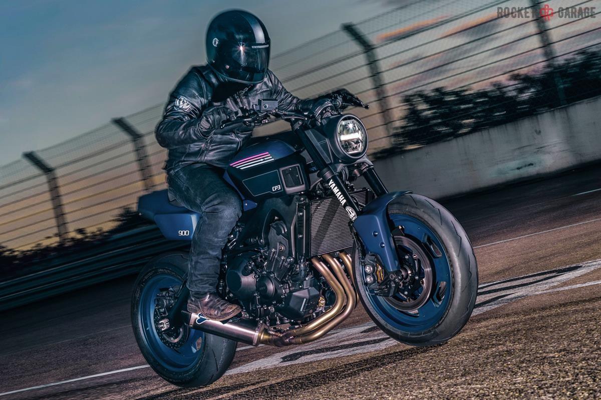 JVB Moto Strike again | XSR 900 CP3 - RocketGarage - Cafe