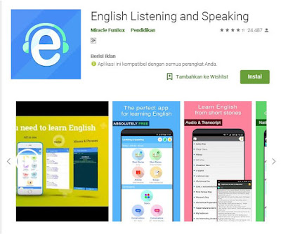 Aplikasi Belajar Bahasa Inggris Offline Gratis Terbaik Untuk Pemula