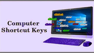 Keyboard Short Cut Keys