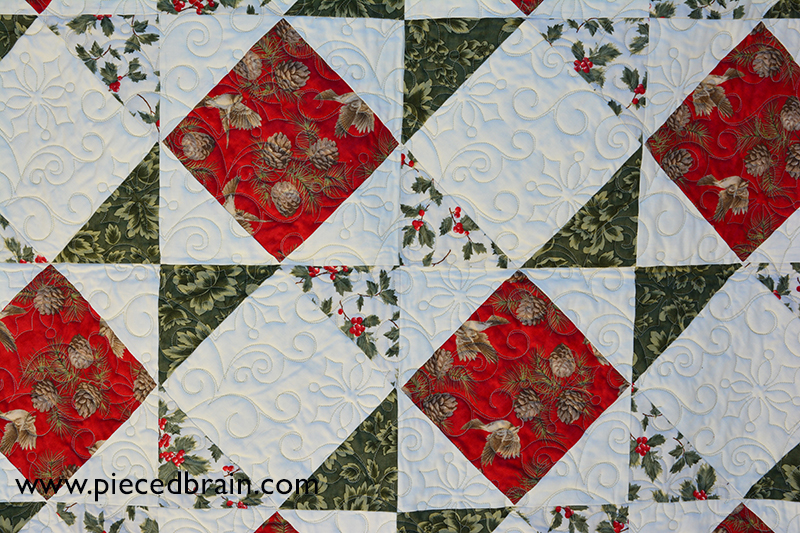 christmas custom machine bonner quilting n natalia by quilt piece applique