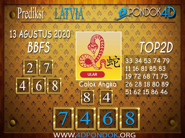 Prediksi Togel LATVIA POOLS PONDOK4D 13 AGUSTUS 2020