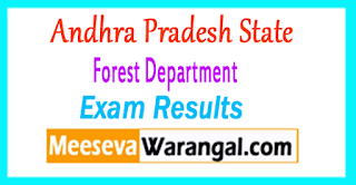 AP Forest Department Exam Results 2017