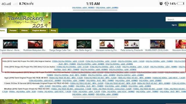 tamilrockers hn tamil movie