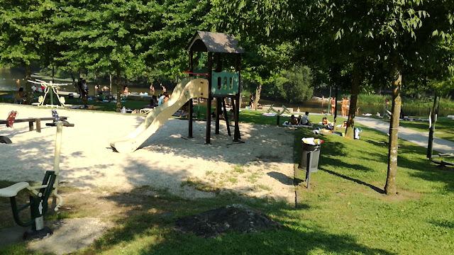 Parque Infantil Praia Fluvial da Ponte Nova
