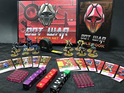Current Bot War Starter Set - Second Edition