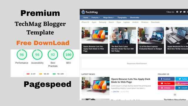 TechMag Blogger Template-ফ্রীতে ডাউনলোড করুন..!