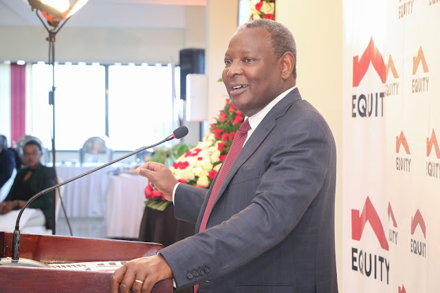 Equity Bank Group CEO Dr James Mwangi