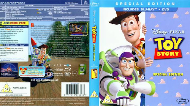 DVD Cover Toy Story 1995 animatedfilmreviews.filminspector.com