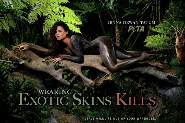 Jenna Dewan-Tatum goes nude for PETA