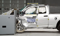 Dodge Ram 1500 small-overlap crash test