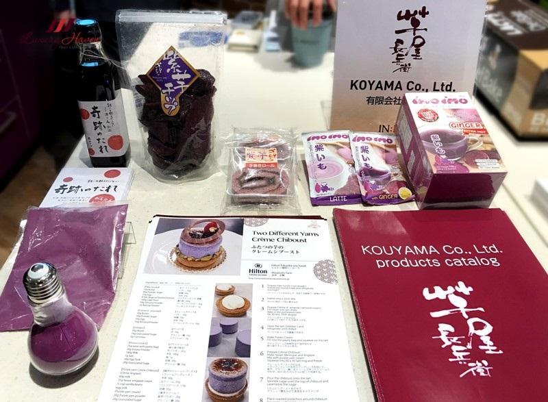 jetro infuse culinaryon koyama purple sweet potato powder