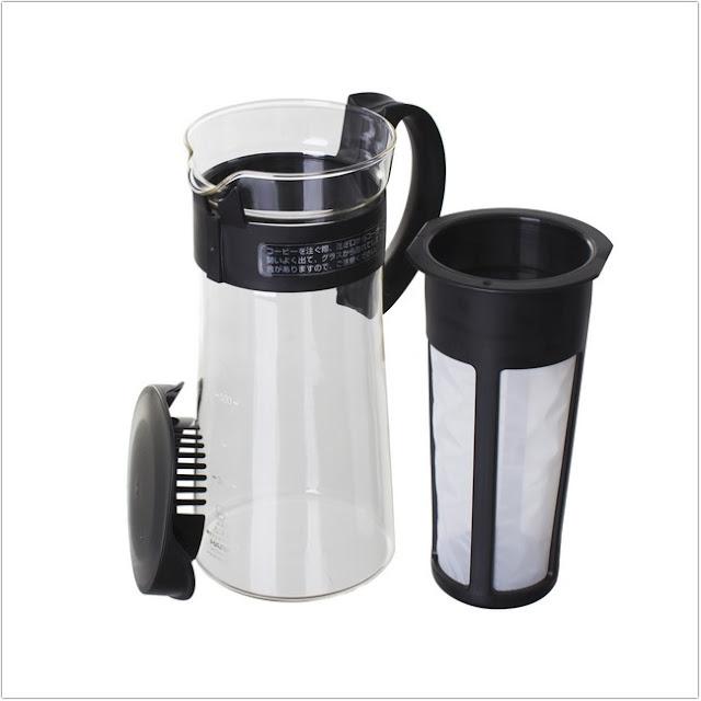 How To Make Cold Brew Coffee At Home;Cold Brew Coffee Recipe;Hario Mizudashi coffee pot;
