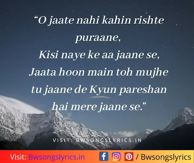 best bollywood hindi song lyrics quotes for facebook