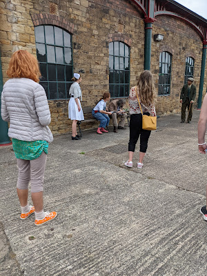 Outdoor performance at Elsecar
