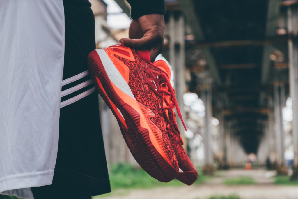 4409a9bb9b6a Pick up a pair of the Crazylight Boost Low 2016  Solar Red  at adidas  online.