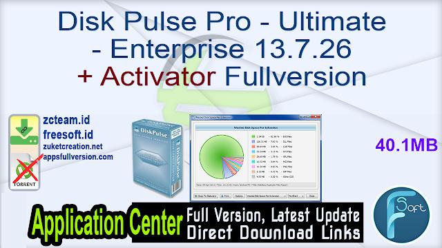 Disk Pulse Pro – Ultimate – Enterprise 13.7.26 + Activator Fullversion