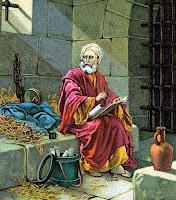 Paul in Prison - clipart.christiansunite.com