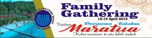 Download Gratis Kumpulan Contoh Spanduk Family Gathering.cdr - KARYAKU