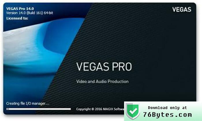 Magix Vegas Pro Crack License Full Download FREE