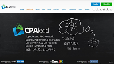 CPALead is one of the best CPA networks