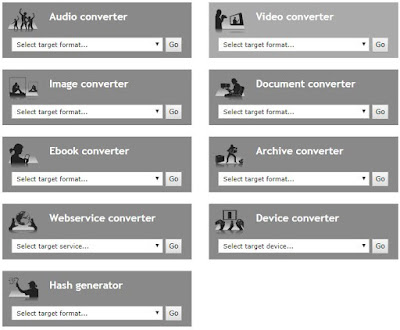 Free online audio,video and any document converter