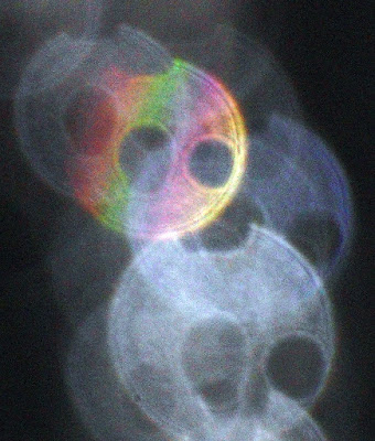 colorful orb with holes