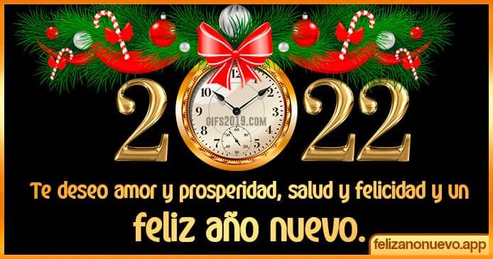 Mensajes para el año nuevo 2022