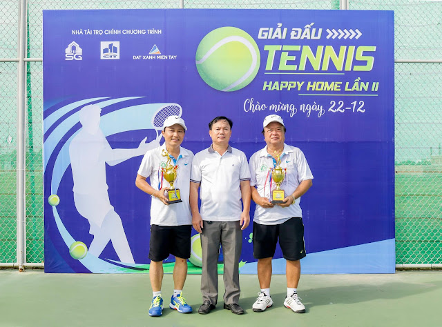 Giải quần vợt Happy Home lần 2 năm 2020 diễn ra thành công tốt đẹp
