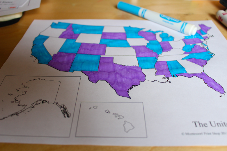 Using The Greedy Algorithm We Were All Able To Correctly Color A Four Color Map Of The United States