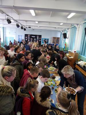 meon school southsea FOMS cake sale