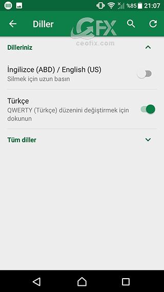 swiftkey klavye Türkçe dil seçeneği-www.ceofix.com/