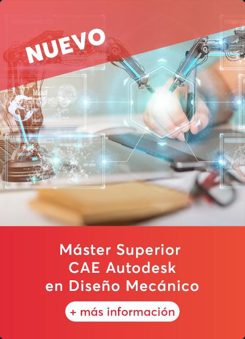 Máster Superior CAE en Diseño Mecánico, por Renders Factory