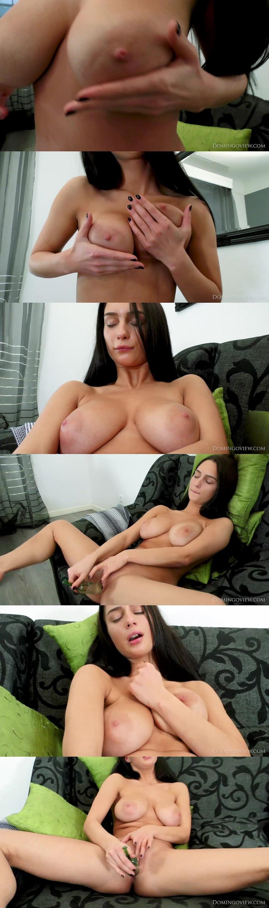 [DomingoView] Blera - Tv Show And Orgasm With A Glass Dildo domingoview 07020