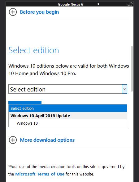 Windows 10 April 2018 Update (Versión 1803 Build 17134 1