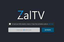 Daftar ZalTV Code dan ZalTV Activation Code Terbaru Dan Terupdate
