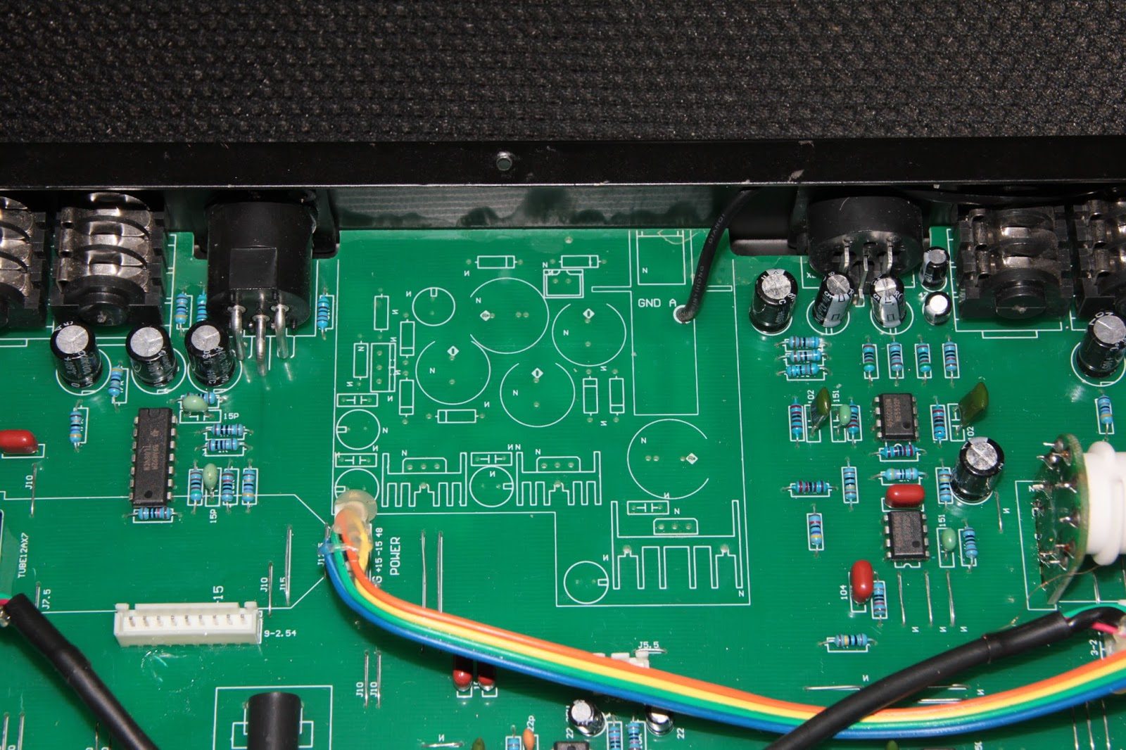 Khrons Cave 21 Sm Pro Audio Tb202 Dual Tube Preamp Channel Ne5532 Subwoofer Processing Circuit Low Pass Filter Board Or They Just Couldnt Be Bothered To Remove The Unused Components From Design All Seemed Marked With An N And No Values Printed