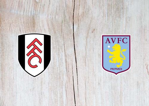 Fulham vs Aston Villa -Highlights 4 January 2020