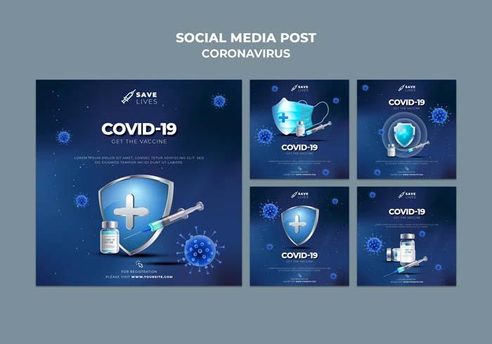 Covid-19 Social Media Post