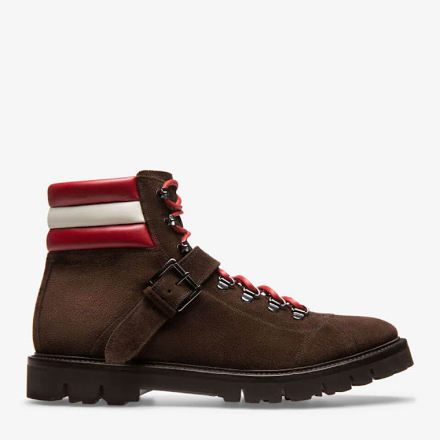 MEN'S CALF LEATHER HIKING BOOT