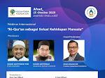 Undangan Webinar Internasional Bersama Imam Shamsi Ali