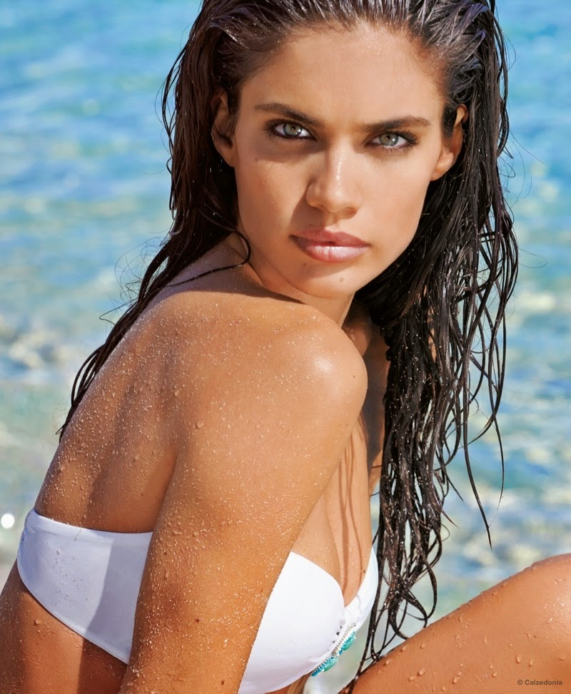 da29ef8d262 Sara Sampaio For Calzedonia Bikinis Summer 2015