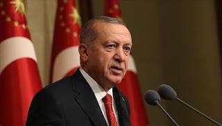 أردوغان:  إذا وجه الشعب والحكومة الليبية دعوة لتركيا فإن ذلك يمنحنا الحق في إرسال قوات