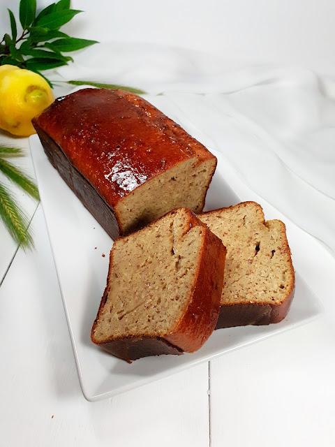 cake au citron sans gluten au fromage blanc, allégé