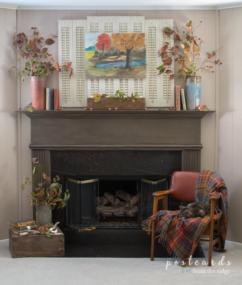 Simple ways to add a rustic fall vibe to your home.