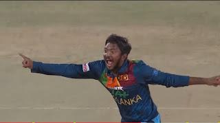 Akila Dananjaya T20I Hat-trick Highlights