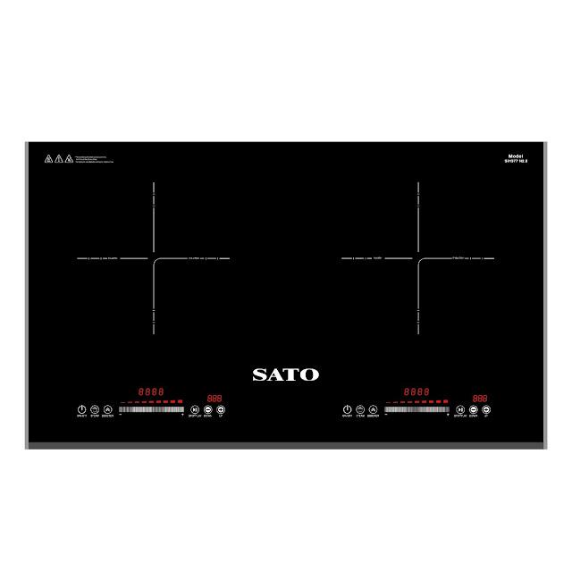 Bếp từ đôi Sato SIH377 N2.0