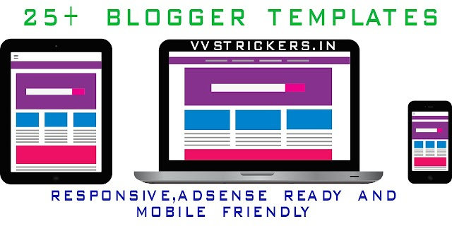 Download 25+ Blogger Premium templates In Free