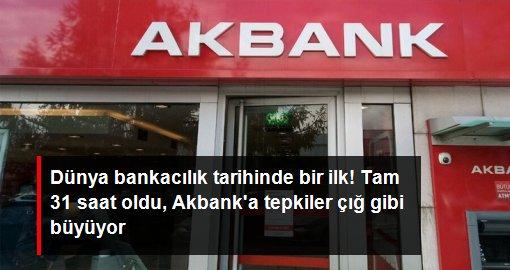 Akbank'a Siber SALDIRILAR MI Oldu