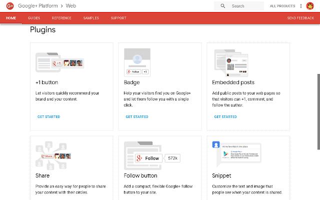 تحديث على واجهة برمجة تطبيقات + Google للمطورين ومالكي مواقع الويب